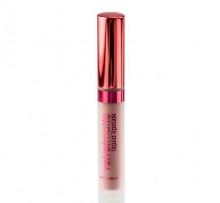 Матовая жидкая помада для губ VelvetMatte Liquid Lipstick LASplash Romance: фото