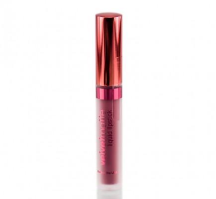 Матовая жидкая помада для губ VelvetMatte Liquid Lipstick LASplash Seductress: фото