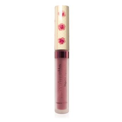 Матовая жидкая помада для губ VelvetMatte Liquid Lipstick LASplash Goals AF nude: фото