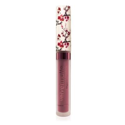 Матовая жидкая помада для губ VelvetMatte Liquid Lipstick LASplash Party Girl cherry: фото