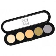 Палитра теней, 5 цветов Make-up Atelier Paris T04 гамма для блондинок: фото