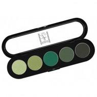 Палитра теней, 5 цветов Make-Up Atelier Paris T29 весенние тона: фото