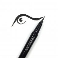 Подводка-фломастер MAKE-UP-SECRET черная Liquid Eyeliner Pen: фото