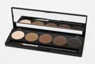Палитра теней для бровей Make up Secret 5 оттенков 5 Brow Palette BP-01: фото