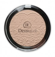 Компактная пудра Dermacol Compact powder with lace relief тон 2: фото