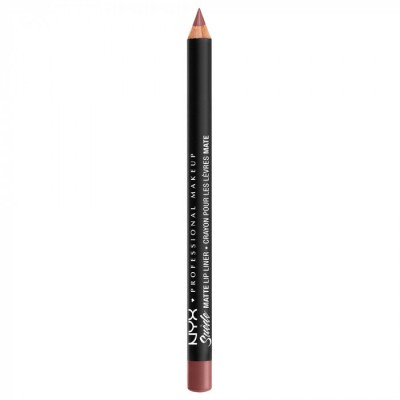 Карандаш для губ NYX Professional Makeup Suede Matte Lip Liner - WHIPPED CAVIAR 25: фото