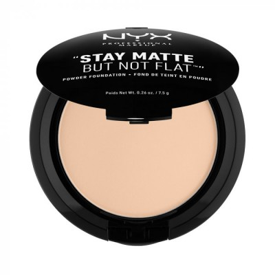 Пудра-основа NYX Professional Makeup Stay Matte But Not Flat Powder Foundation - NUDE BEIGE 017: фото