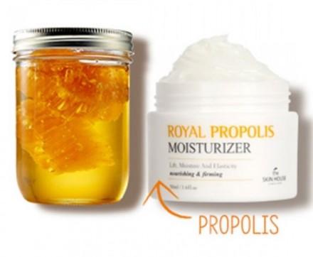 Крем увлажняющий с прополисом THE SKIN HOUSE Royal propolis moisturizer 50 мл: фото