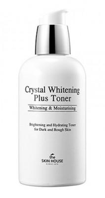 Тонер против пигментации THE SKIN HOUSE Crystal whitening plus toner 130мл: фото