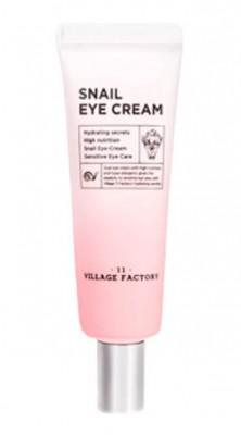 Крем для кожи вокруг глаз с улиточным муцином VILLAGE 11 FACTORY Snail Eye Cream: фото