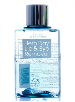 Средство для снятия макияжа THE FACE SHOP Herb Day Lip&Eye Make Up Remover Water Proof: фото
