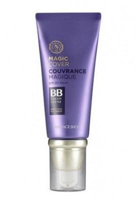 ВВ-крем с плотным покрытием THE FACE SHOP Face It Magic Cover BB Cream SPF20 №V203 Natural Beige: фото