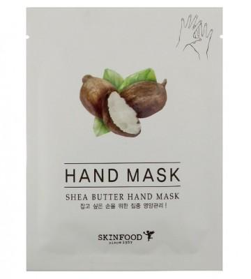 Маска для рук с маслом Ши SKINFOOD Shea Butter Hand Mask: фото