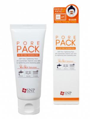 Средство для затирки пор SNP On-off pore tightening pack wash-off type 80г: фото