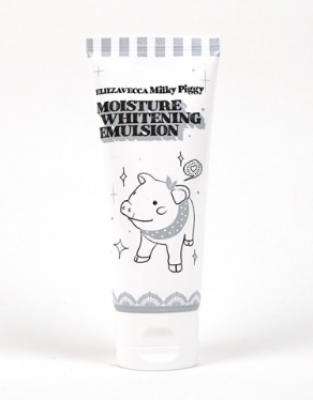 Эмульсия осветляющая увлажняющая ELIZAVECCA Milky piggy moisture whitening emulsion 100 мл: фото