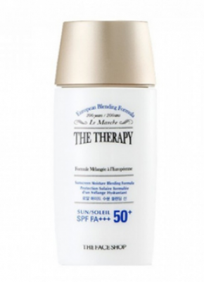 Солнцезащитный крем THE FACE SHOP The therapy anti-aging hydrating cream 55 мл: фото