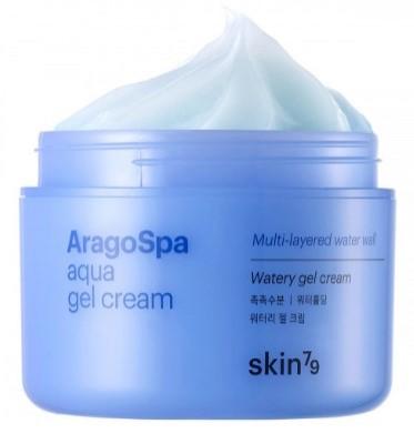 Крем для лица с гиалуроновой кислотой SKIN79 Aragospa aqua gel cream 90 мл: фото
