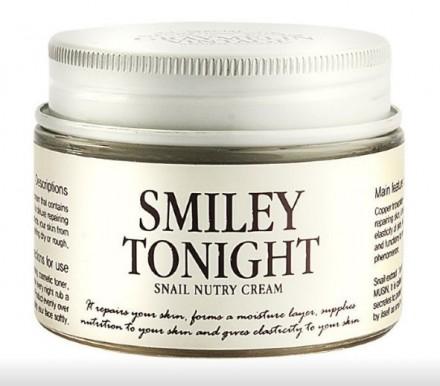 Крем для лица с улиточным муцином GRAYMELIN Smiley Toning Snail Nutry Cream 50г: фото