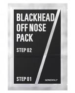 2-х шаговый набор против черных точек для мужчин GENERAL 7 Blackhead Off Nose Pack 1шт: фото