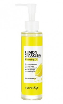 Гидрофильное масло с экстрактом лимона SECRET KEY Lemon Sparkling Cleansing Oil: фото