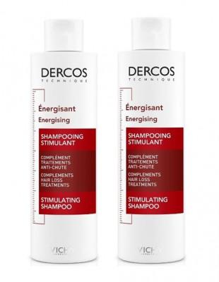 Шампунь тонизирующий против выпадения волос VICHY DERCOS AMINEXIL Дуопак -50% на второй: фото