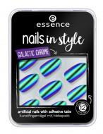 Накладные ногти на клейкой основе ЕSSENCE Nails In Style 06 зеленый хамелеон: фото