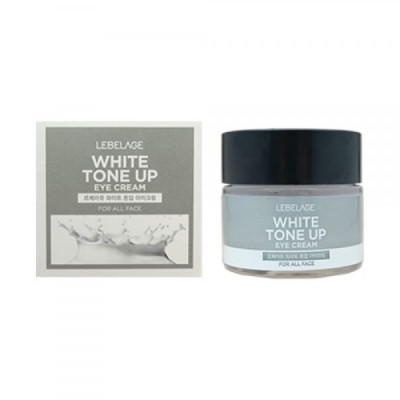 Крем вокруг глаз, выравнивающий тон кожи LEBELAGE White Tone Up Eye Cream 70мл: фото