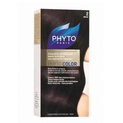 Краска для волос PHYTOSOLBA Phyto Color 2 Брюнет: фото