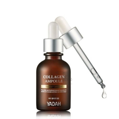 Сыворотка для лица с коллагеном YADAH COLLAGEN AMPOULE 30мл: фото