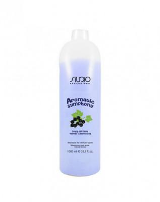 Бальзам для всех типов волос Черная смородина Kapous Studio 1000мл: фото