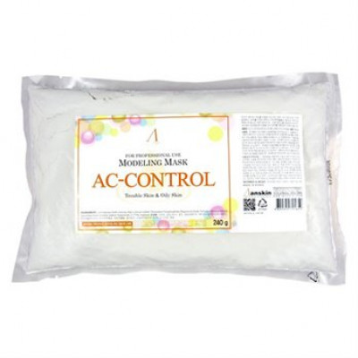 Маска альгинатная для проблемной кожи, акне Anskin AC Control Modeling Mask 240г: фото