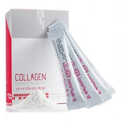 Сыворотка Welcos для восстановления волос коллагеновая порошок Mugens Collagen Essential Powder 3гр: фото