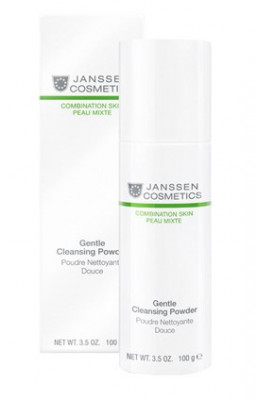 Пудра мягкая очищающая Janssen Cosmetics Gentle Cleansing Powder 100 г: фото