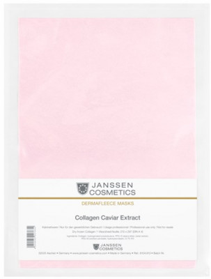 Коллагеновая биоматрица с экстрактом икры Janssen Cosmetics Collagen caviar extract 1лист: фото