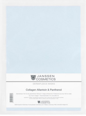 Коллагеновая биоматрица с аллантоином и пантенолом Janssen Cosmetics Collagen Allantoin 1лист: фото