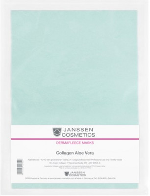 Коллагеновая биоматрица с алоэ Janssen Cosmetics Collagen Aloe 1лист: фото