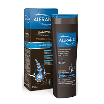 Шампунь для мужчин для роста волос Alerana 250мл: фото