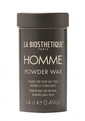 Пудра-воск для придания объема и подвижной фиксации с атласным блеском La Biosthetique Powder Wax 14г: фото