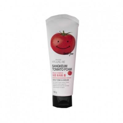 Пенка для умывания Welcos Around me Tomato Foam 150г: фото