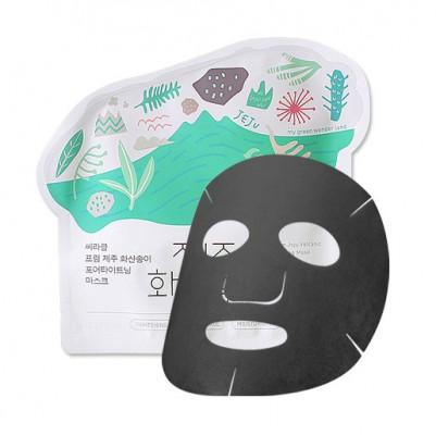 Маска для лица тканевая для сужения пор Ciracle JEJU Volcanic Pore-Tightening Mask 21г: фото