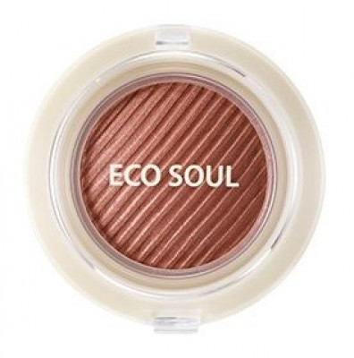 Тени гелевые для век THE SAEM Eco Soul Swag Jelly Shadow 3 Just a moment 4,8г: фото