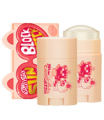 Стик для лица солнцезащитный elizavecca milky piggy sun great block stick 22гр: фото