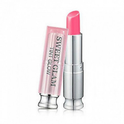 Тинт-бальзам увлажняющий SECRET KEY Sweet Glam Tint Glow_Funky Pink 3,5гр: фото