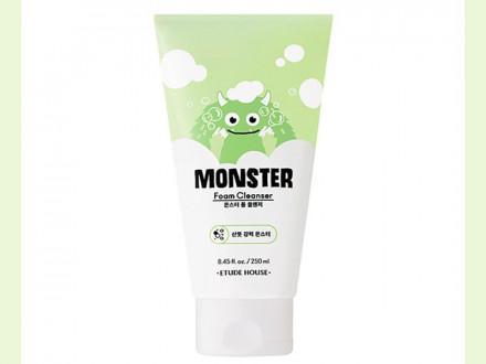 Пенка для умывания освежающая Etude House Monster Foam Cleanser 250мл: фото