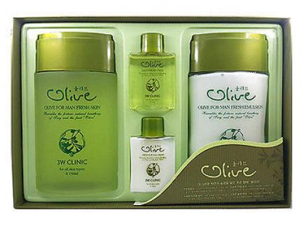 Набор мужской ОЛИВА 3W CLINIC Olive for Man Fresh 2 Items Set: фото