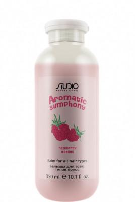 Бальзам для всех типов волос Малина Kapous Aromatic Symphony Raspberry 350 мл: фото