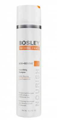 Шампунь питательный для истонченных окрашенных волос Bosley Bos Revive Step 1 Nourishing Shampoo Visibly Thinning Color-Treated Hair 300мл: фото