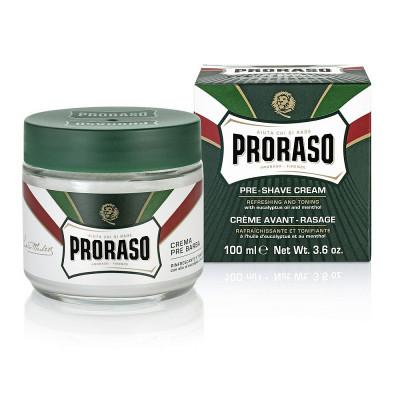 Крем до бритья освежающий Эвкалипт Proraso Green 100 мл: фото