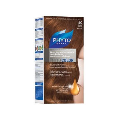 Краска для волос Phytosolba PhytoCOLOR №6С Темный медный блонд СДВОЙКА: фото