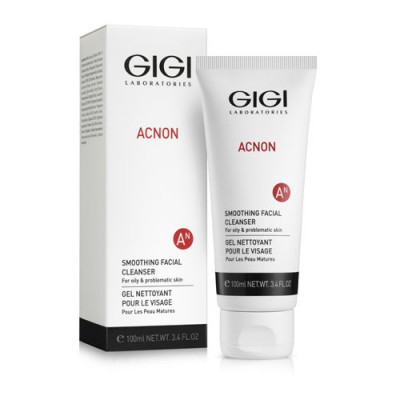 Мыло для глубокого очищения GiGi Acnon Smoothing facial cleanser 200мл: фото